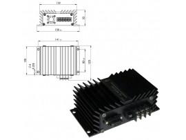 ПН-12/24-15А (10-15VDC > 24VDC) преобразователь напр.