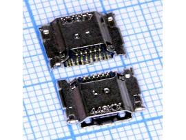 Micro USB PUJ10 Разъем  на плату