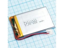 LP383450-PCM-LD Аккумулятор 3.7V 650mAh Li-POL