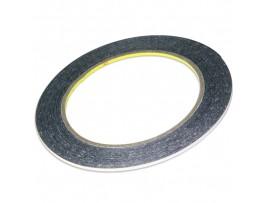 Скотч двухсторонний 0,05мм 3мм 50м черный