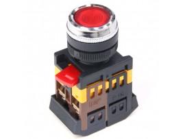 ABLFS-22 кнопка 1NO/1NC (BBT30-ABLSF-K06) с подсв. зел.