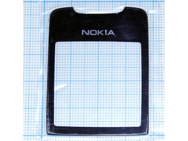 Nokia 8800 Sirocco стекло чёрное