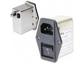 DL-6DZ2KR[YQ06A1] фильтр питания 250V/6A
