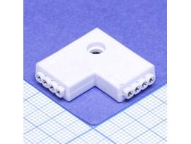 Коннектор 4P-L угловой  4 pin жесткий