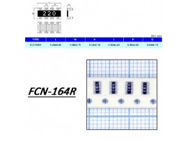 FCN16-4R 10к чип.Сборка рез.