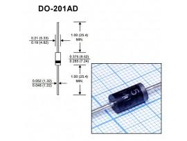 SB5200[SR5200] (200V/5A) Диод Шоттки