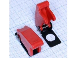 R17-10B защита для тумблера красная