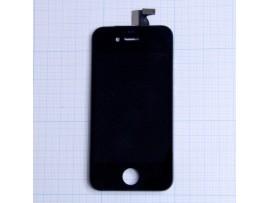 iPhone 4S дисплей +тачскрин (черный)