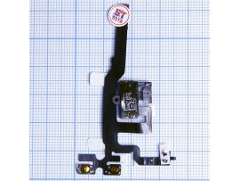 iPhone 4S шлейф с разъемом гарнитуры original (черный)