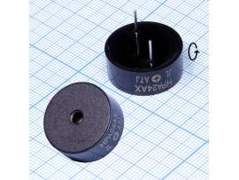 HPA24AX пьезоизлучатель с генератором 12 В, 24 мм