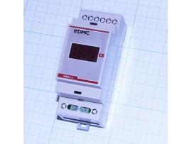 Вольтметр VMM.1.1R красный 1-фазн. цифровой на DIN