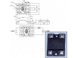 KSD225AC8 реле твердотельное 25A/250VAC (4-32VDC)