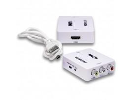 HDMI => RCA Video+Audio конвертор