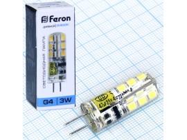 Лампа 12V 3W G4 JC 4000 св/д ASD LED