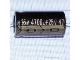 Конд.4700/25V (аксиал)