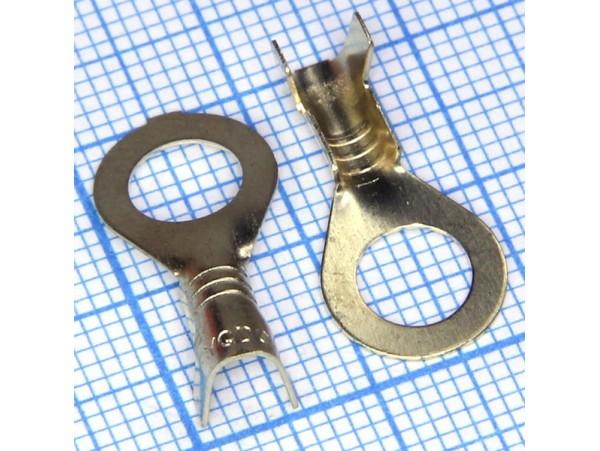 DJ431-6C наконечник кольцевой М6 (2,0-2,5)