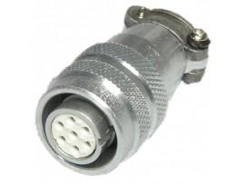 XS12-7 (Al) розетка 7к. на кабель