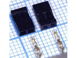 BLS2-2 2,00 розетка 2к. на кабель