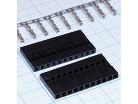 BLS-11 2,54 розетка 11к. на кабель