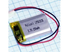 LP502030-PCM-LD Аккумулятор 3.7V250mAh