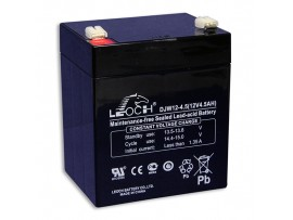 Аккумулятор 12V/4,5Ah DJW12-4.5 90х70х101 Leoch