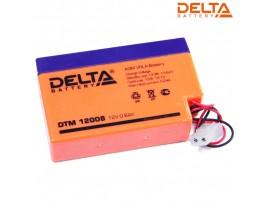 Аккумулятор 12V/0.8A DELTA DTM 12008 96x25x62 мм