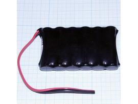 Аккумулятор 7,2V/1000mAh секция (6*d=14;h=48)