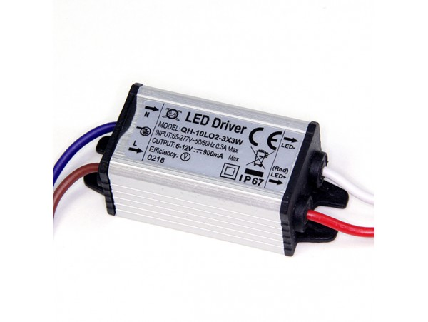 Драйвер LED 6-12V/900mA IP67
