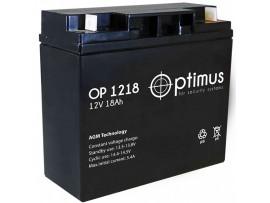 Аккумулятор 12V/18Ah OP1218 (167х181х76мм) Optimus