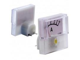 91C16 (0-10A) DC амперметр 40х40