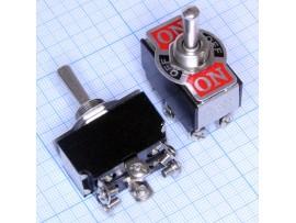 KN3B-223(A) тумблер (on)-off-(on) 125V,10 А без фикс.