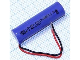 LIR14500-PCM-LD Акк. 3,7V/750m Li-Ion, выводы - провод