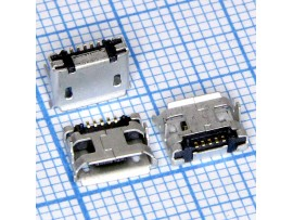Micro USB 5pin 5SD1M Гн. на плату