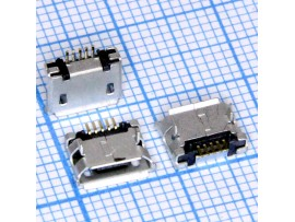 Micro USB 5pin 5SD2 Гн. на плату