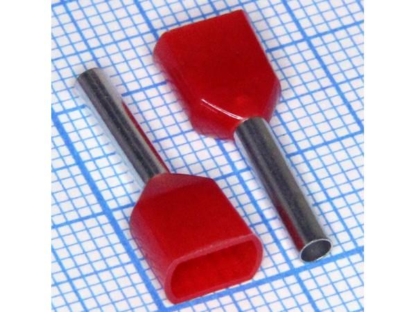 TIC2-1.5-12 наконечник втулочный 12ммх1,5мм2