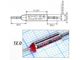 TZ D-175-10A Термопредохранитель