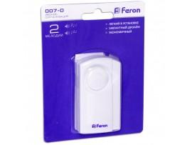 Звонок электрический дверной /сигнализация Feron
