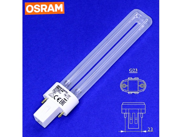 Puritec HNS S GCF9DS 9W/2P G23 лампа бактерицидная