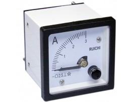 Амперметр 3А 48х48 DC