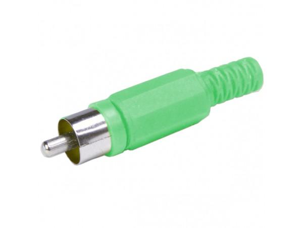 RCA вилка зеленая
