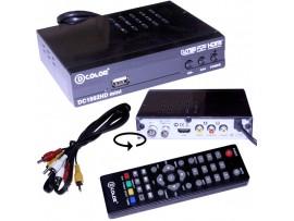 D-COLOR DC1002 mini ресивер эфирный DVB-T2,HD