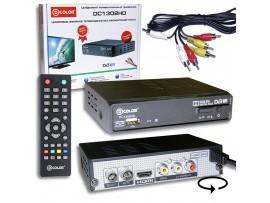 D-COLOR DC1302HD ресивер эфирный DVB-T2,HD