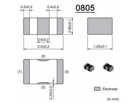 NFM21PC104R1E3 фильтр керамический SMD0805