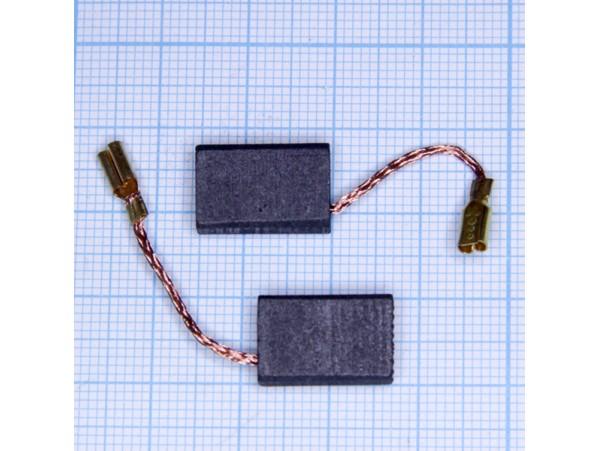 Щетки 5x10x16 (терминал) для эл.двиг., пара