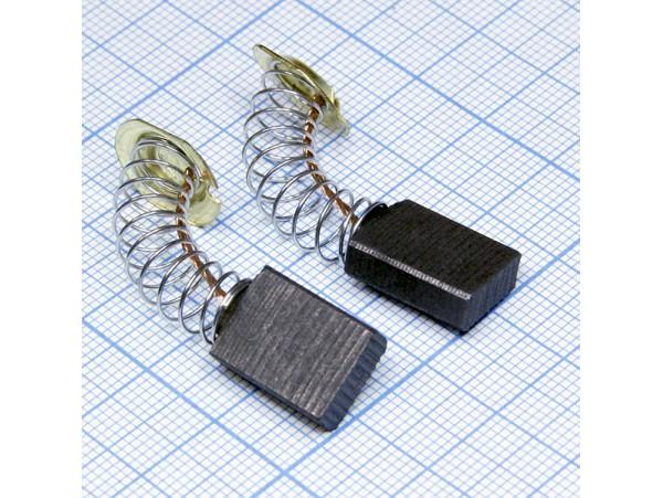 Щетки 5x11x16 (пружина) для эл.двиг., пара