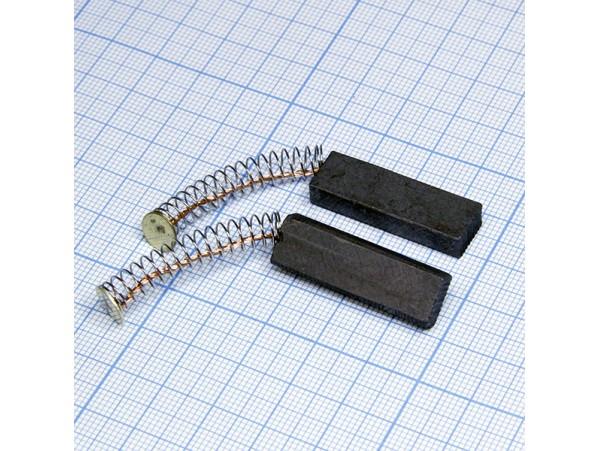 Щетки 6x10x32 (пружина) для эл.двиг., пара
