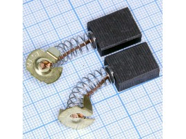 Щетки 6,5x13,5x17 (пружина) для эл.двиг., пара