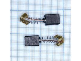 Щетки 6x9x13 (пружина) для эл.двиг., пара