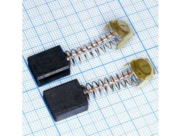 Щетки 7x13x16 (пружина) для эл.двиг., пара