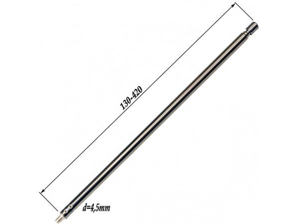 АНТЕННА d=4,5; 130/420 телескопическая